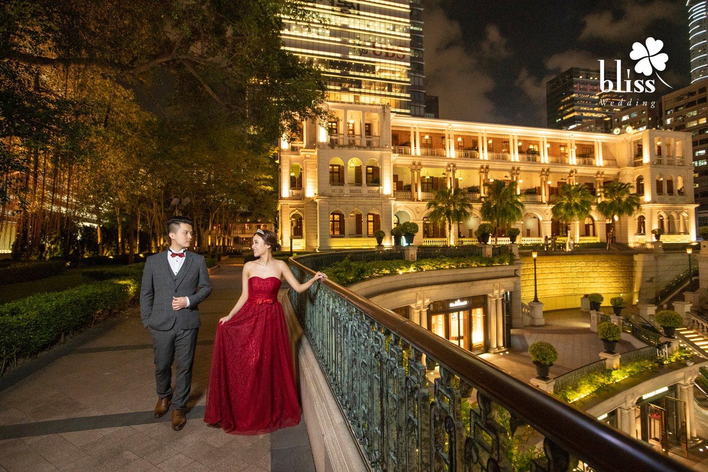 香港婚紗攝影景點推介—黃昏夜景篇